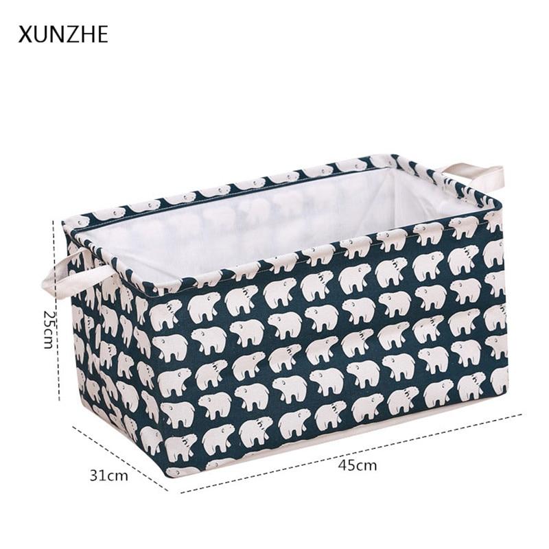 XUNZHE Multi-Function Desktop Storage Box Underwear Sock Organizers Stationery Toy Cosmetic Jewelry Sundries Storage Basket