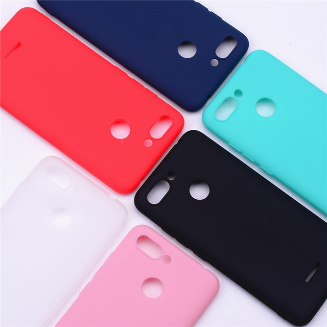 Coque en silicone souple pour xiaomi redmi 6 coque TPU coques de téléphone arrière pour xiaomi redmi 6 redmi 6 coques pour xiaomi redmi 6 Fundas