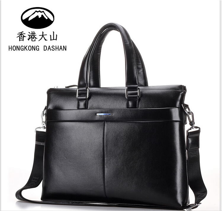 hk dashan brand men's briefcase big black pu leather top quality mans handbags fashion business dress man laptop bags party 3colors hk dashan brand men s briefcase high quality pu leather business man 15 laptop handbags black fashion casual male bags