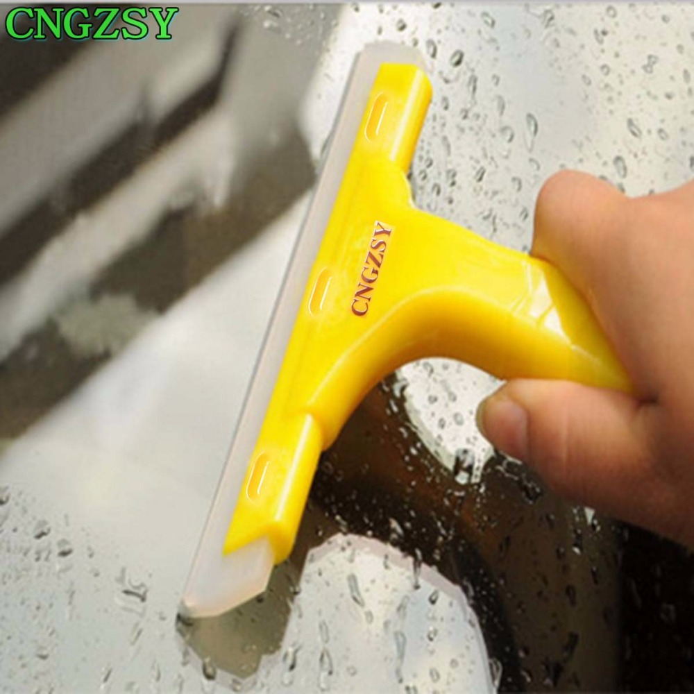 Sponges, Cloths & Brushes Cngzsy Glass Mirror Water Wiper Rubber Blade Handle Squeegee Car Window Windscreen Cleaning Washer Household Office Cleaner B03b