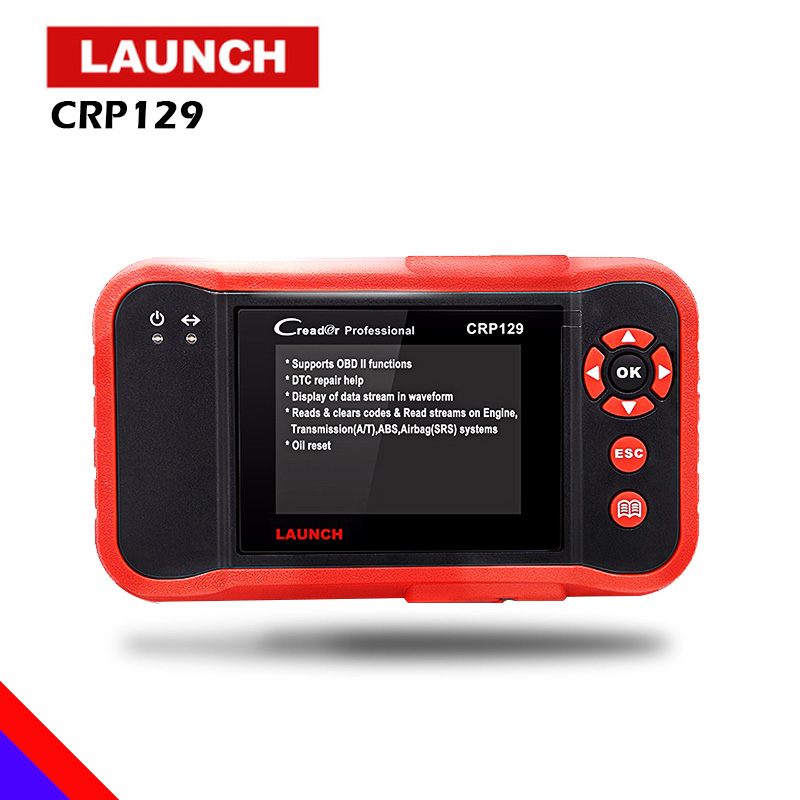 LAUNCH CRP129 Scanner Automotivo obd2 OBD obd 2 Car Code Reader Scan Tool Pro 2018 Launch X431 VIII Auto OBDII Diagnostic Tool цены онлайн