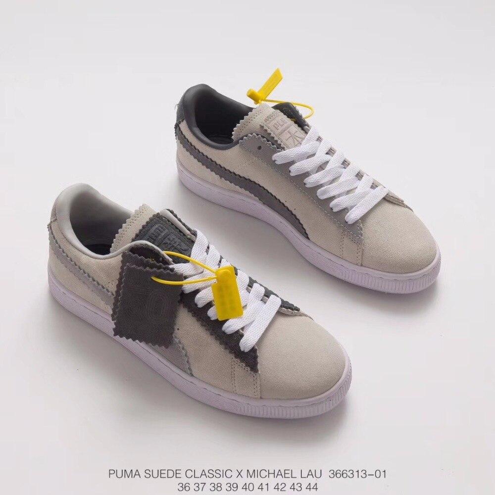 43167e88bd0026 2018 PUMA x SUEDE CLASSIC X MICHAEL LAU Sneakers Shoes Men s and Women s  366313-01