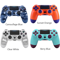 Game Pad For Sony PS4 Bluetooth Wireless Controller For PlayStation 4 Dual Shock Wireless Vibration Joystick Gamepads For PS3