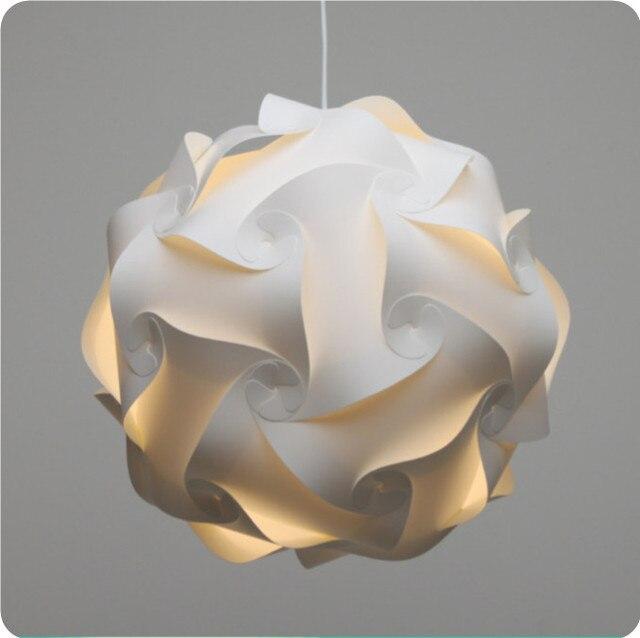 Jigsaw Lights Plastic IQ Light Shade IQ Lights Plastic DIY