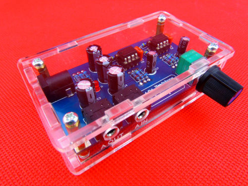 Portable Headphone Amplifier Board Kit AMP Module Kit For Classic 47 DIY +case title=