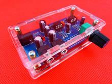 Placa amplificadora de fone de ouvido portátil, kit módulo amp para clássico 47 diy + estojo