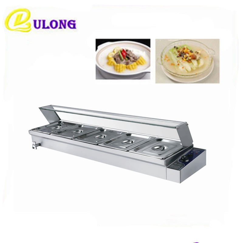 Electric commerical bain marie of catering equipment Food Keep Warmer tools stainless steel bain marie