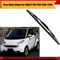 Janela Auto Traseiro Windshield Para Mercedes-Benz Smart FOR TWO 1998-2008 Carro Limpador Lâmina de Borracha Macia