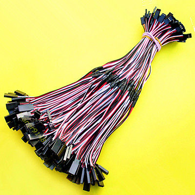 100 Pcs 30cm Servo Y Type Extension Cord Cable For RC airplane Servo communication cable for servo drive mr cpcatcbl3m cable mr j2s a