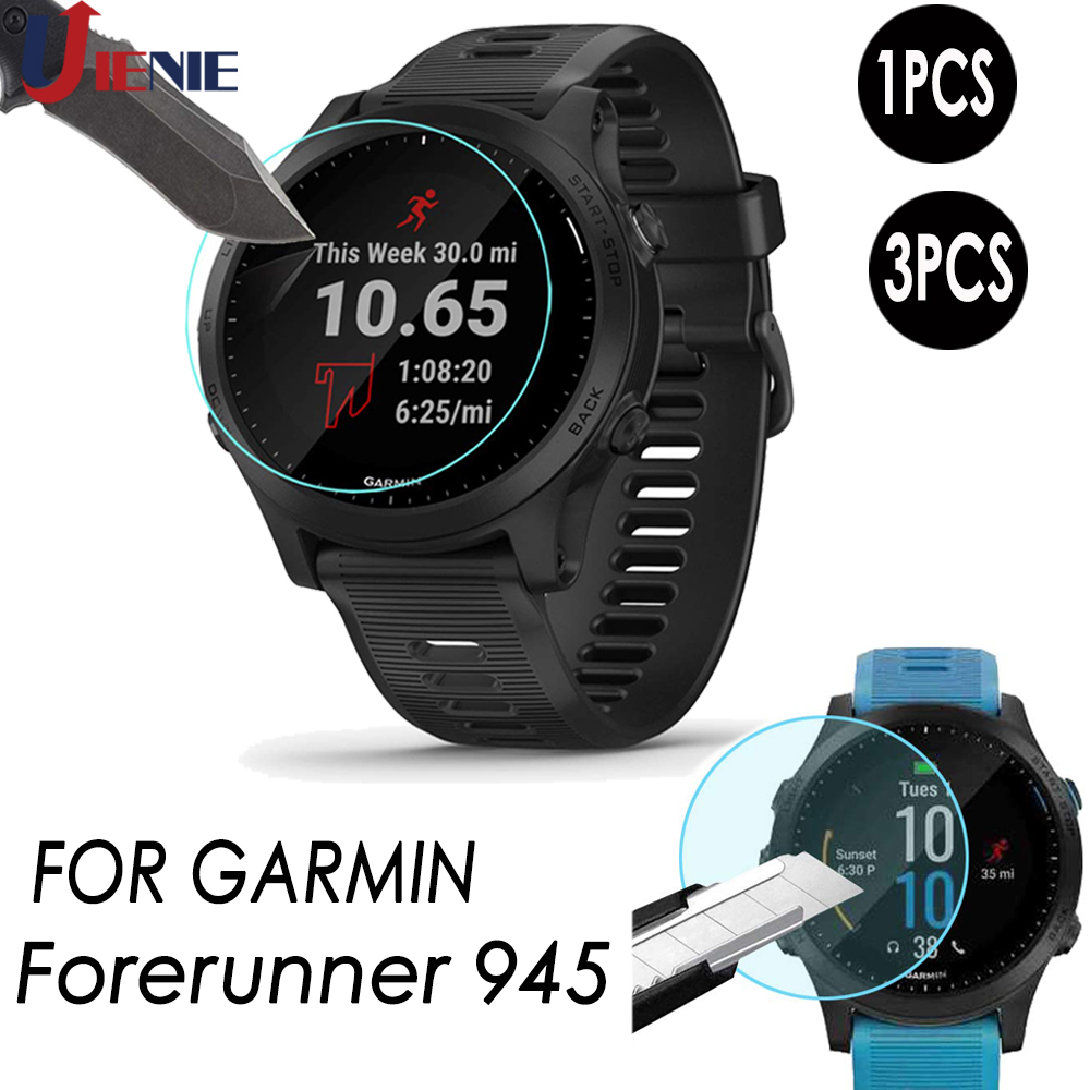 Tempered Glass Protective Film HD For Garmin Forerunner 945 Smart Watch Bracelet Screen Protector Accessories