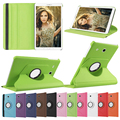 "360 Rotating Capa Capa Para Para O Caso do Samsung Galaxy Tab 9.6 ""T561 SM-T560 PU LEATHER Fique Esperto Tablet Covers w/Stylus Pen"