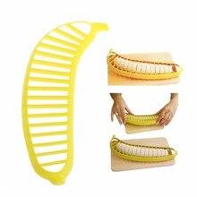 Banana Slicer Cutter Chopper Fruit Salad Peeler Kitchen Tool Cucumber Vegetable Kitchen Tools New Drop shipping #448B#