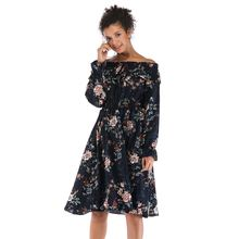 Женское винтажное платье yyfs повседневное шифоновое с открытыми