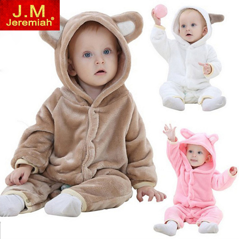 Infant Romper Baby Boys Girls Jumpsuit New born Bebe Clothing Hooded Toddler Baby Clothes Cute Bear Romper Baby Costumes newborn baby rompers baby clothing 100% cotton infant jumpsuit ropa bebe long sleeve girl boys rompers costumes baby romper