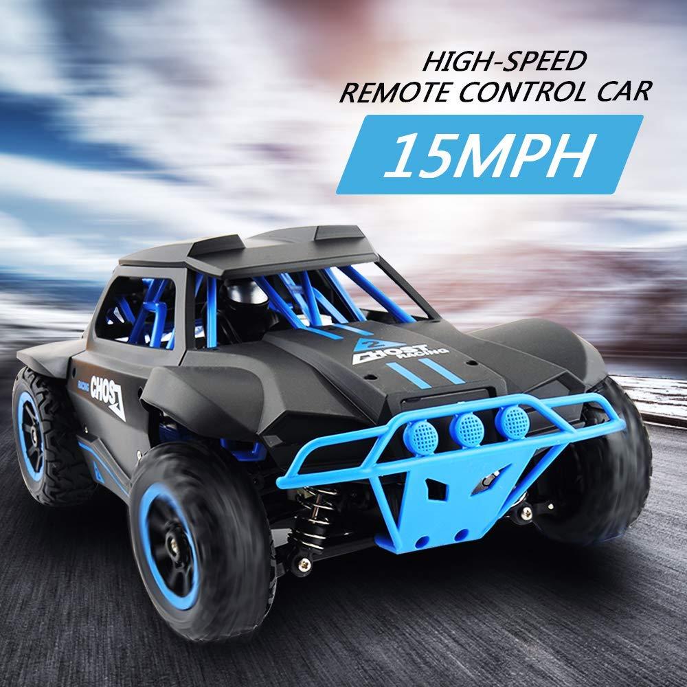 GizmoVine RC автомобилей 2,4 г дистанционного Управление Car 1/18 масштаб краткий курс грузовик 25 км/ч высокое Скорость RC игрушки 4WD внедорожник