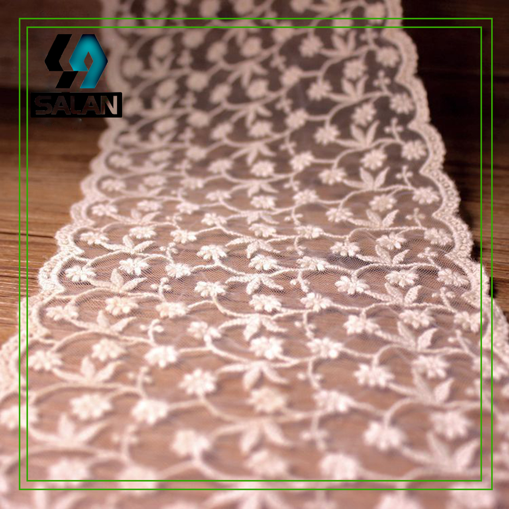 13.2cm wide edge flowers fashion embroidery lace DIY jewelry doll children's clothing curtains home accessories accessories