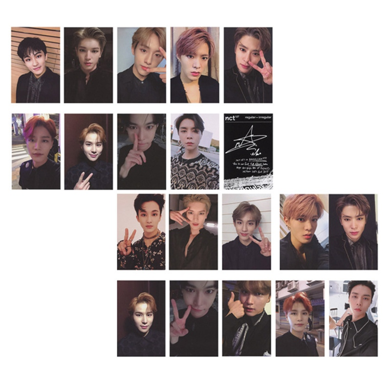 10 Pcs/Set NCT DREAM NCT127 Album Transparent Photo Card Regular-Irregular Cards Self Made Card Photocard Paper Cards
