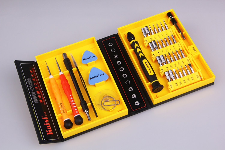 ФОТО  N38 in 1 Multi Repair Tool Box Magnetic Opening Tools Kit Screwdriver for Cell Phones iPhone 6 Plus 5S Notebook MP3 Laptop