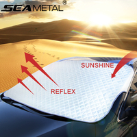 Car Window Sunshade Windshield Covers Snow Sun Shade Protection Windscreen Sunscreen Folding SUV Sedan Front Auto