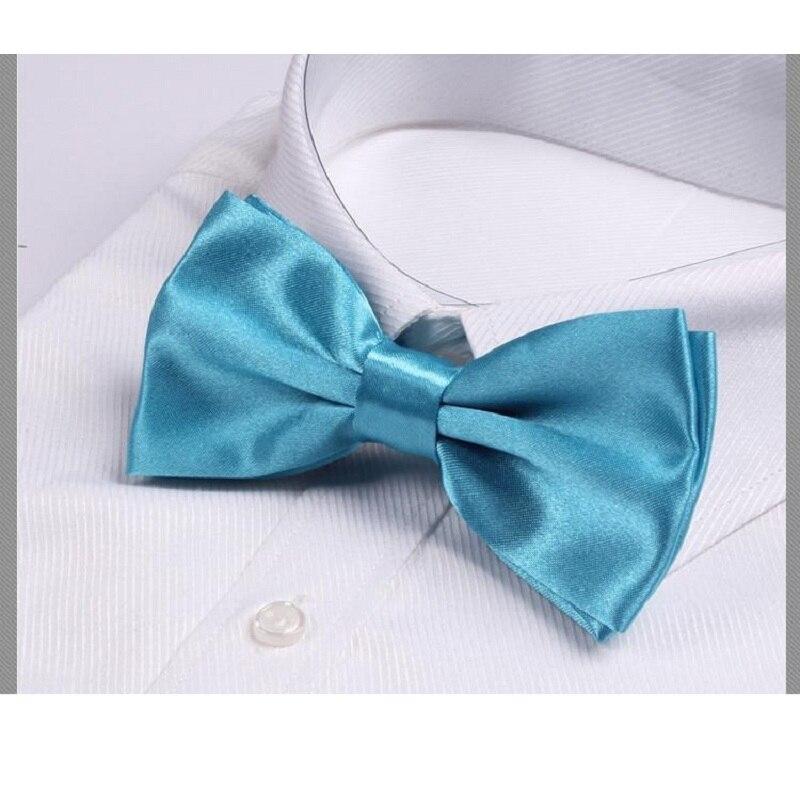 turquoise blue bow tie gravata ties for men corbatas butterfly