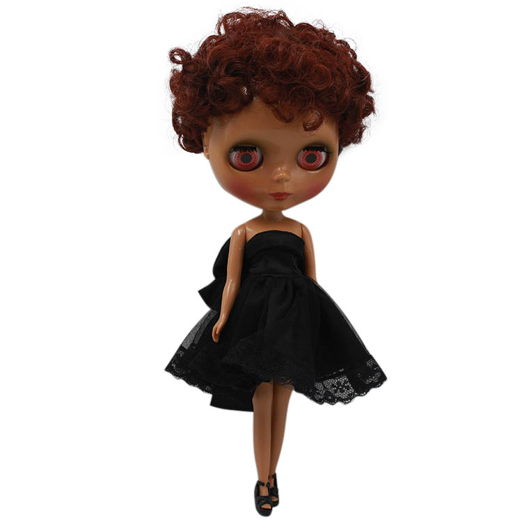 Factory Blyth Doll Nude Doll Yellow Curly Short Hair Joint