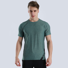 Workout Training Tees Gym Jogging Tshirt Sport Shirt Men Sho