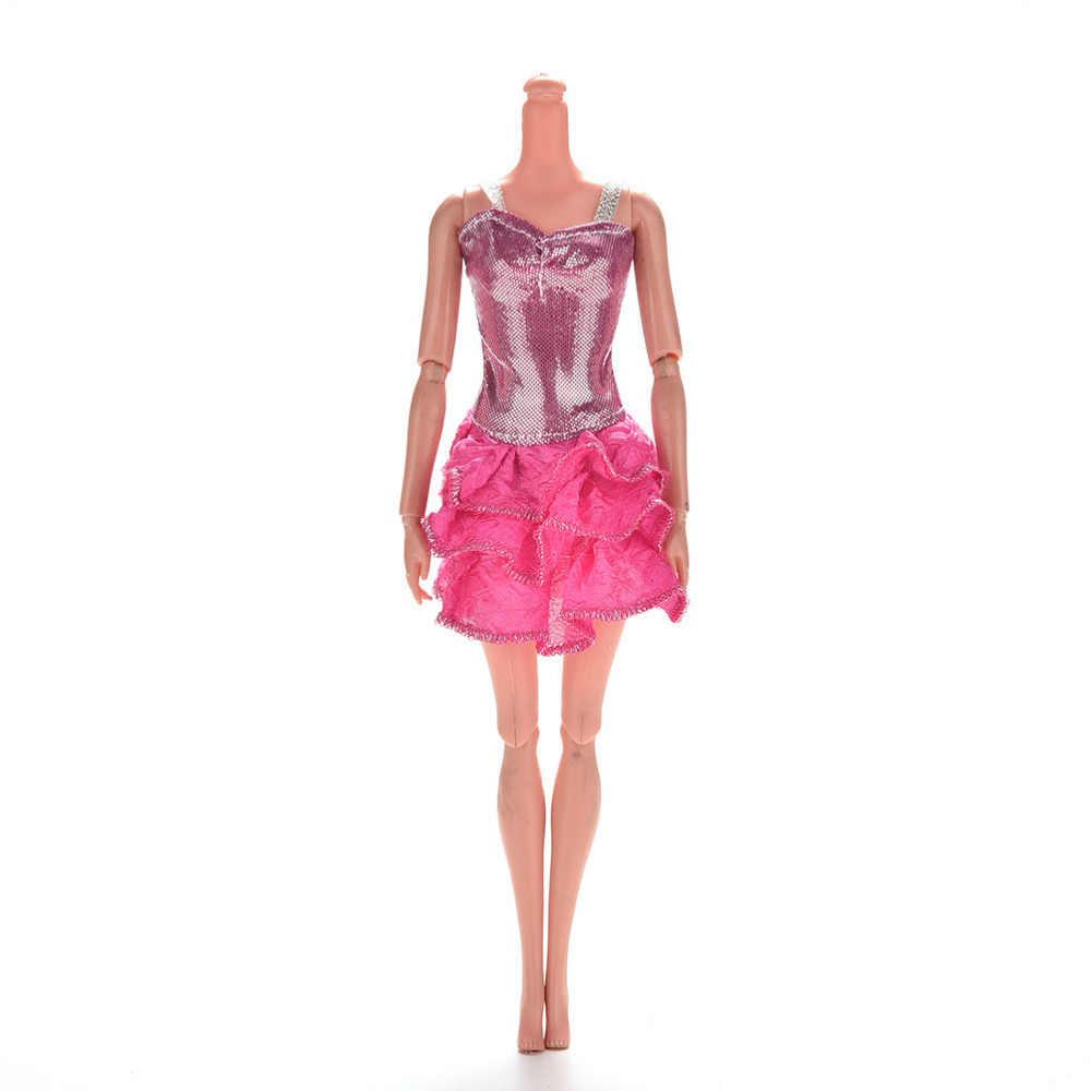 Pizies Party Wedding Dress Fashion Dress For   Doll Princess Gown Dress Clothes Gown For   doll Party ClothesKids Xmas Gift