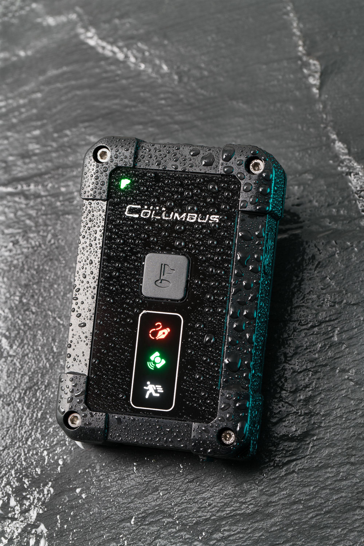New Columbus P-1 P1 Professional GPS Data Logger IP66 Waterproof 10Hz Built-in Motion Sensor MTK 3339 Chipset 66-channels WGS-84