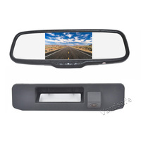Vardsafe VS560C | Reverse Backup Camera + 5 inch Rear View Mirror Monitor for Mercedes Benz GLK GLA GLC GLE A180 A200 A260