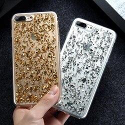 KISSCASE Girly Bling étui pour iPhone 6 6 s Plus 7 7 Plus 5 5 s SE Sequin Style coréen Coque mince couverture pour iPhone 6 S 7 Plus Fundas
