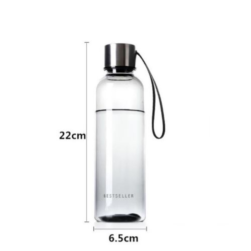 500ml Hot Brief Water Bottle Vogue Woman Men Water Bottle Leak Proof BPA Free Sports Drinking 500ml Hot Brief Water Bottle Vogue Woman Men Water Bottle Leak Proof BPA Free Sports Drinking Water Bottle with Carry Strap