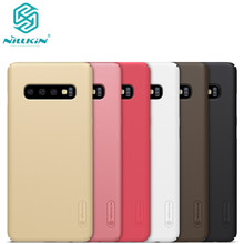 10 шт./лот оптовая продажа NILLKIN Супер Матовый экран матовая жесткая задняя крышка из ПК чехол для Samsung Galaxy S10