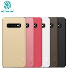 10 teile/los großhandel NILLKIN Super Matt Schild matte PC harte rückseitige abdeckung fall für Samsung Galaxy S10 fall