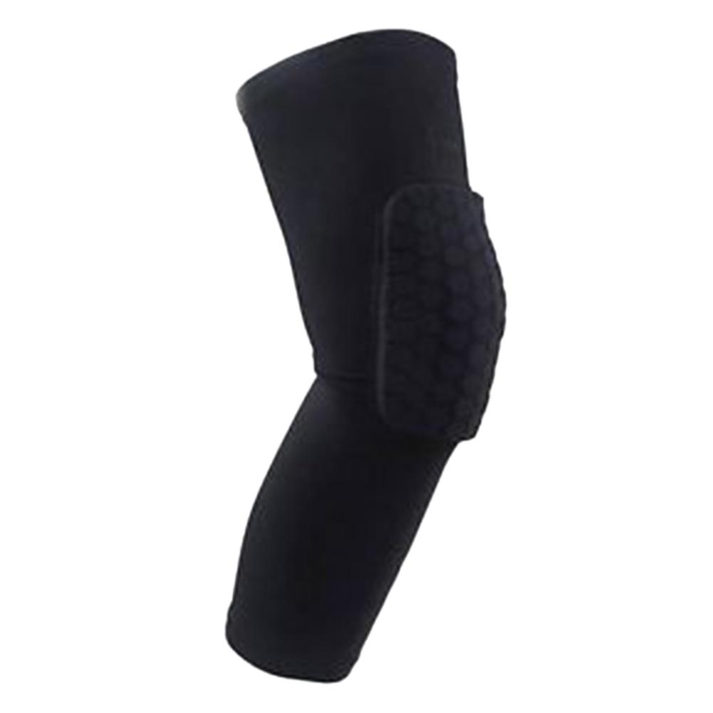 Honeycomb Kneepad Crashproof Antislip Long Leg Knee Sleeve Protector Breathable Shooting Sport Safety Knee pad