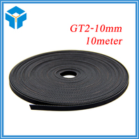 10meter GT2 10mm Open Timing Belt Width 10mm GT2 Belt GT2 10mm For Mendel Rostock CNC