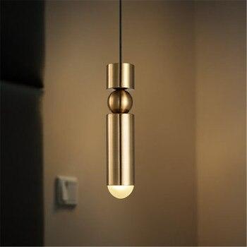 Simple Loft Style Iron Acrylic LED Pendant Light Fixtures Creative Modern Hanging Lamp Dining Room Droplight Indoor Lighting