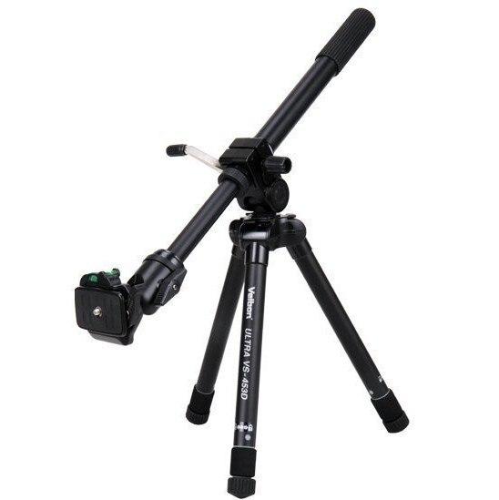 Velbon VS-453D Axe Horizontal Invertable En Aluminium REFLEX trépied de caméra Kit