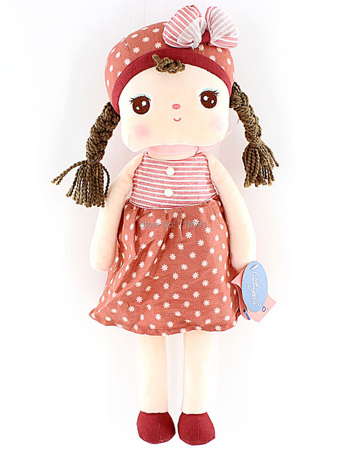 """Metoo Soft Plush Toy Angela Dolls for Girl Gifts,16"""",24"""",35"""",1PC"""