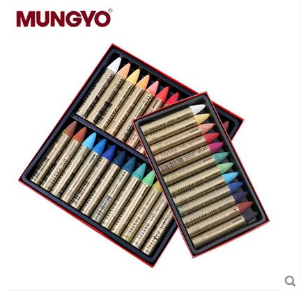 MUNGYO MAO 12/24  Series Extra Smooth Water Soluble Oil Pastel  ART Drawing Paint