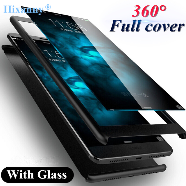release date 2df63 0f70d US $4.3 |360 degree Full Protection shockproof Cover Case For Huawei Mate  10 lite Full Cover matte hard For Huawei Mate 10 Pro Case glass-in Fitted  ...