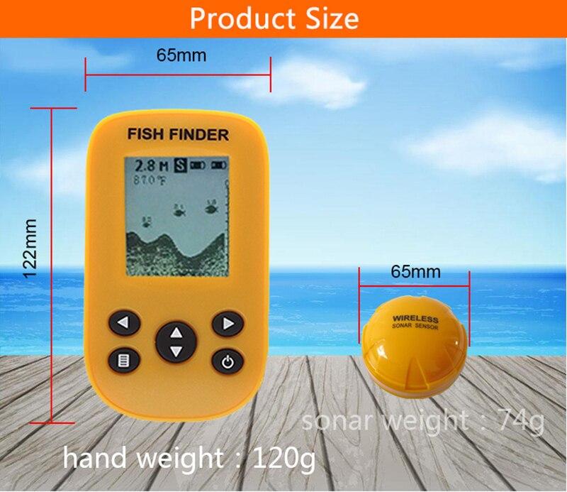Marke Neue KDR Dot Matrix Fisch Finder smart sonar sensor, Wireless Fisch finder Kostenloser Versand