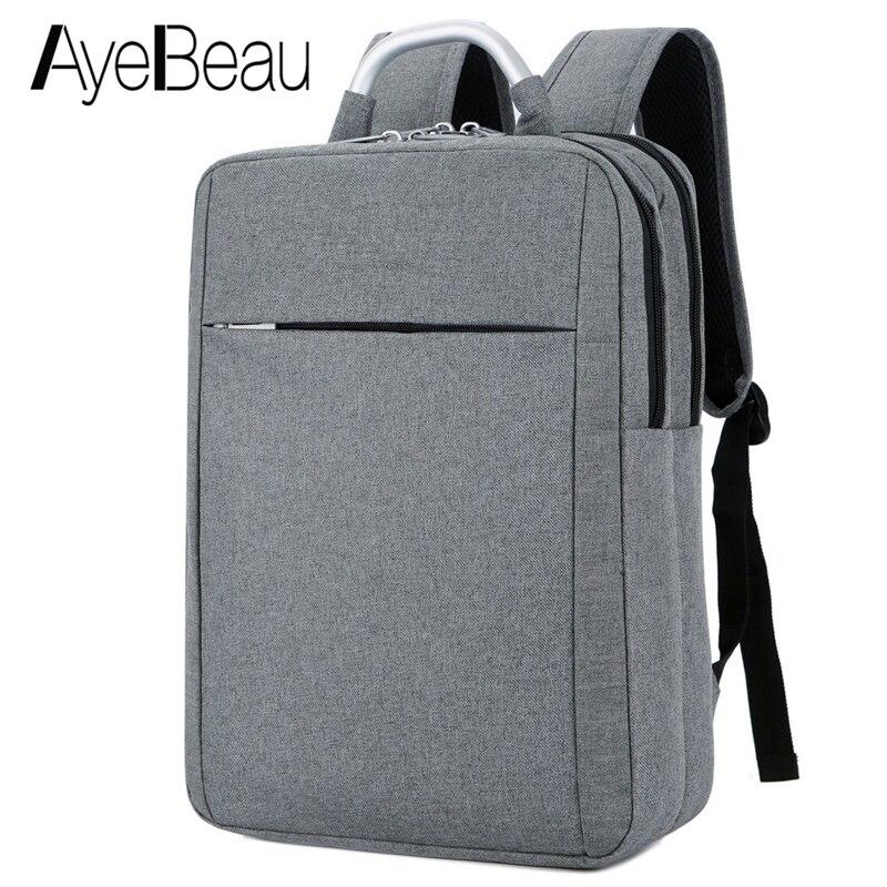 Back Pack Backbag Portfolio School Bag Travel Waterproof Laptop Backpack Male Men Notebook For Teenagers Nylon Schoolbag Bagpack цена