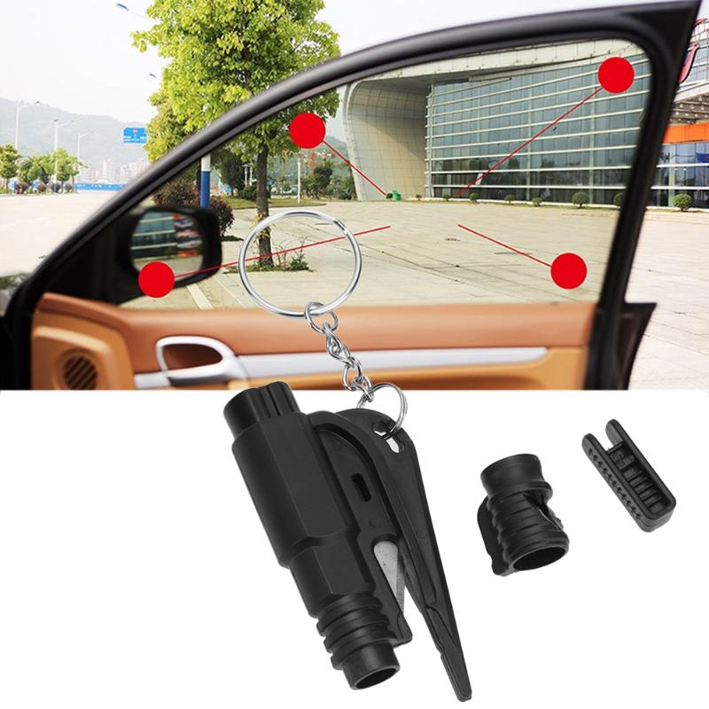 3 in 1 Emergency Mini Safety Hammer Auto Car Window Glass Breaker Seat Belt Cutter Rescue Hammer Car Life-saving Escape Tool 2 in 1 car safety hammer seat belt cutter emergency hammer bracket