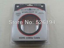 Freies verschiffen ein meter wireworld heimkino sternenlicht 5,2 hdmi zu hdmi kabel mit original box