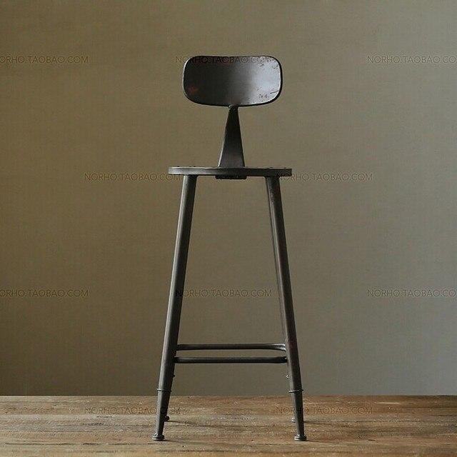 Connu Vintage paese americano in ferro battuto sedie bar cafe lounge  UU32