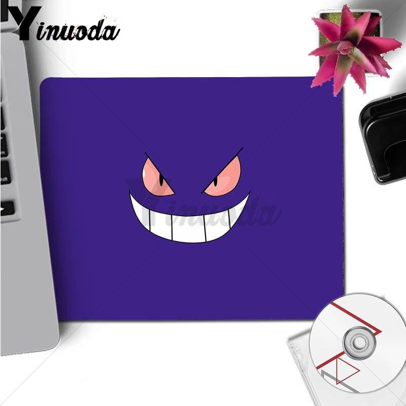 Yinuoda 2018 Новый Pokemons Go Gengar зловещий Туманность большая Мышь pad PC компьютер коврик Размеры для 250*290 300*900 400*900 см