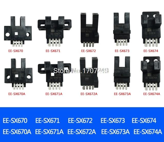 10 Pcs EE SX670 EE SX671 EE SX672 EE SX673 EE SX674 EE SX670A SX674A EE SX671R EE SX674P Neue Lichtschranke Sensoren