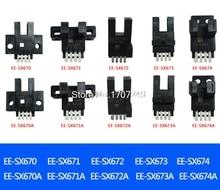 Sensores de interruptor fotoeléctrico EE SX670 EE SX671 EE SX672, EE SX673, EE SX674, EE SX670A, SX674A, EE SX671R, 10 Uds.