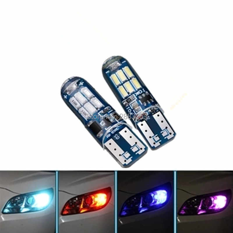for renault duster captur logan megane fluence kadjar clio cars Signal Lamp LED Position lamp T10 Clearance Lights Super Bright