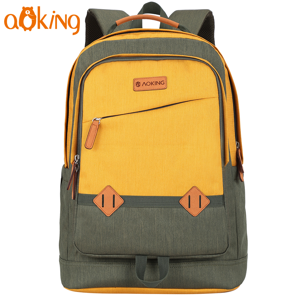 Aoking New Arrival Fashion Lightweight School Backpack For College Laptop Backpack Large Capacity Daily Travel Leisure Backpack fashion designer girls backpack large capacity backpack travel leisure backpack